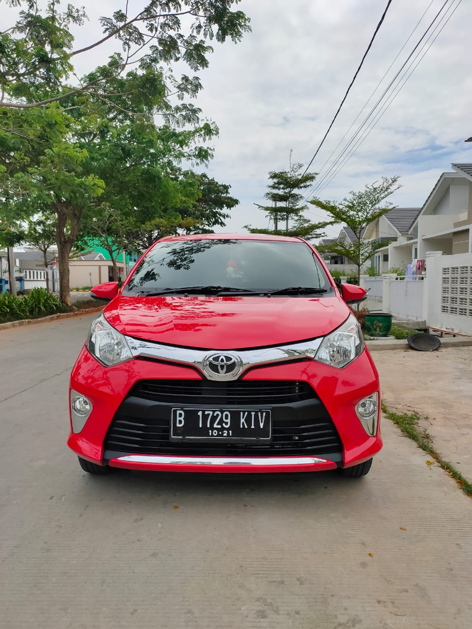 TOYOTA CALYA G MT Th 2016 / B 1729 KIV